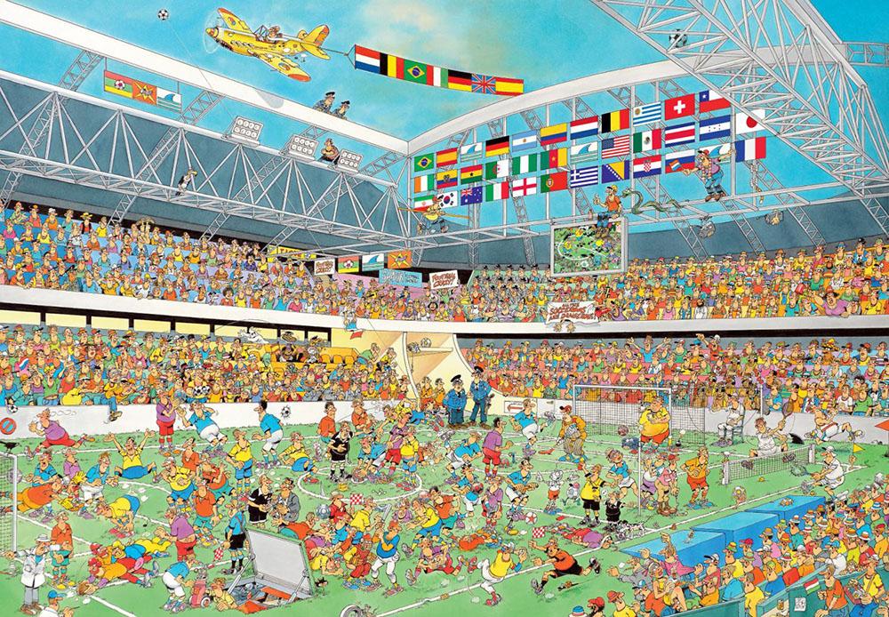 Safari In Ga >> Uitgaven 2014 - Jan van Haasteren puzzels