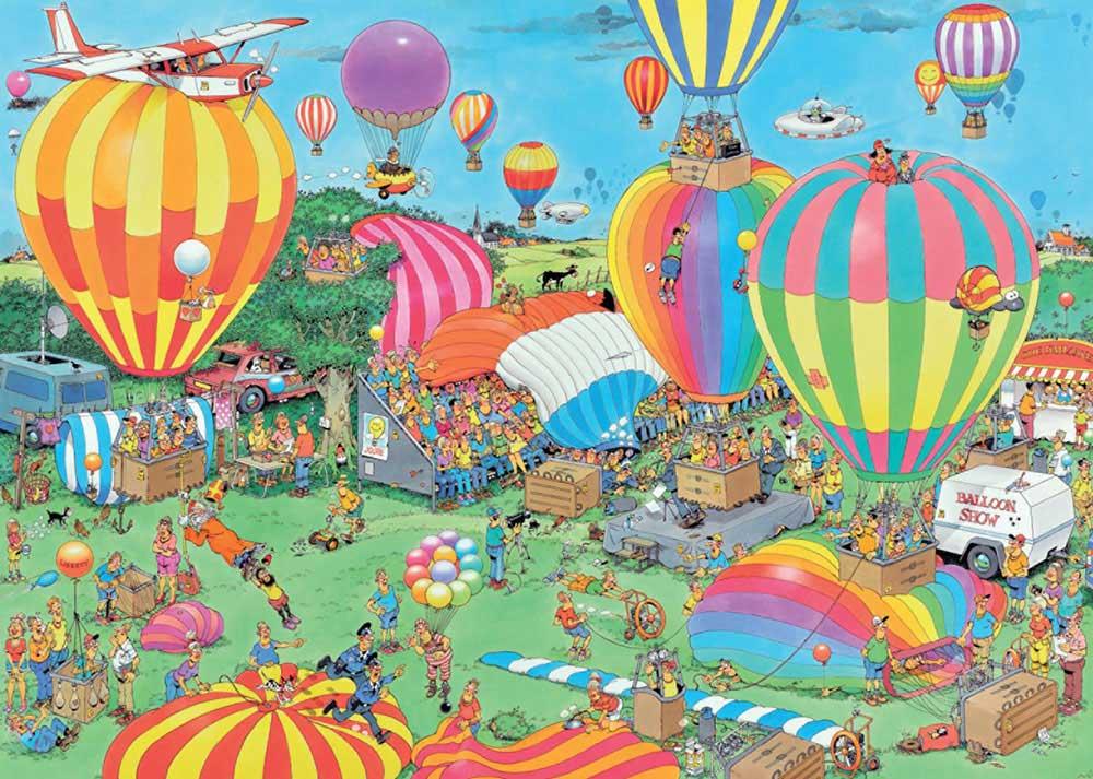 The Balloon Festival Jan Van Haasteren Puzzels