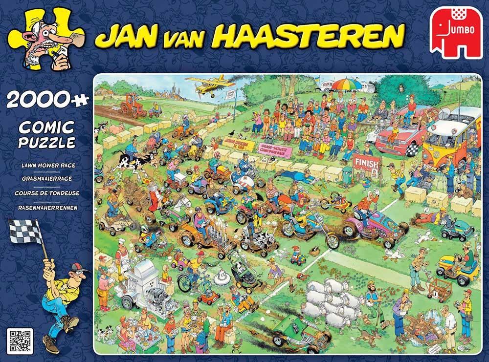 Lawn Mower Race 2000 Jan Van Haasteren Puzzels